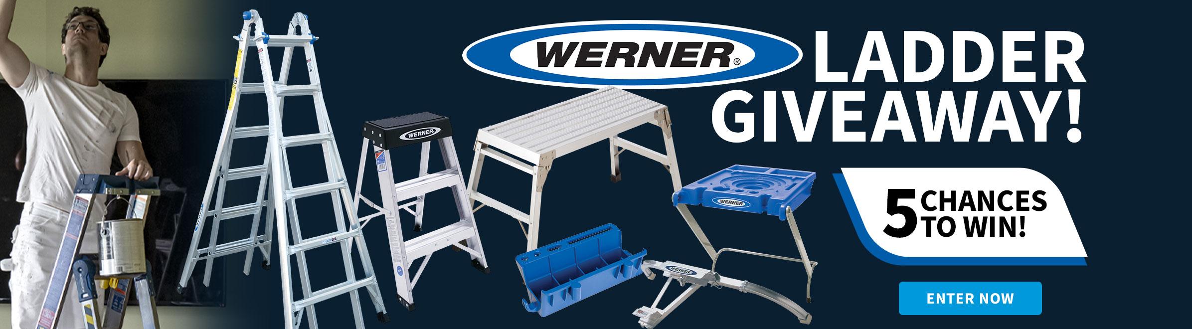 Werner Ladder Giveaway!