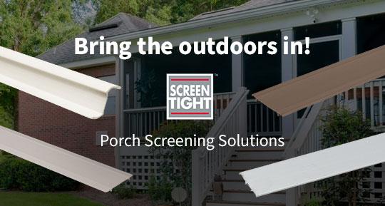 Screen Tight Porch Screen Solutions