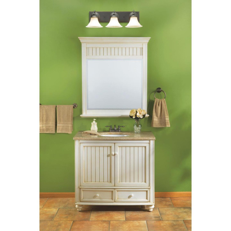 Sunny Wood Bristol Beach White 36 In. W x 34 In. H x 21 In. D Vanity Base, 2 Door/2 Drawer Image 5