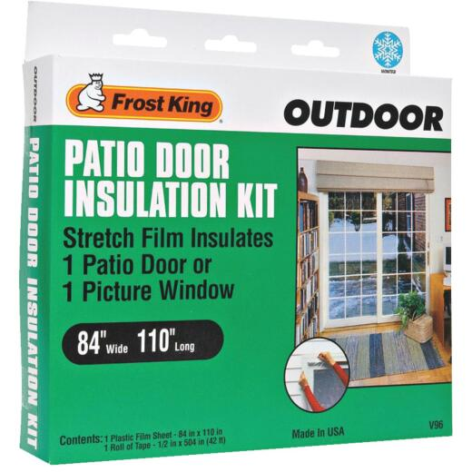 Frost King 84 In. x 110 In. Window Outdoor Stretch Film Kit