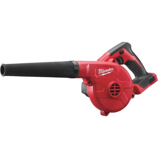 Milwaukee M18 160 MPH 18-Volt Compact Lithium-Ion Cordless Blower (Bare Tool)
