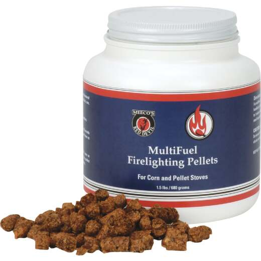 Meeco's Red Devil 1-1/2 Lb. Multi-Fuel Fire Starter Pellets