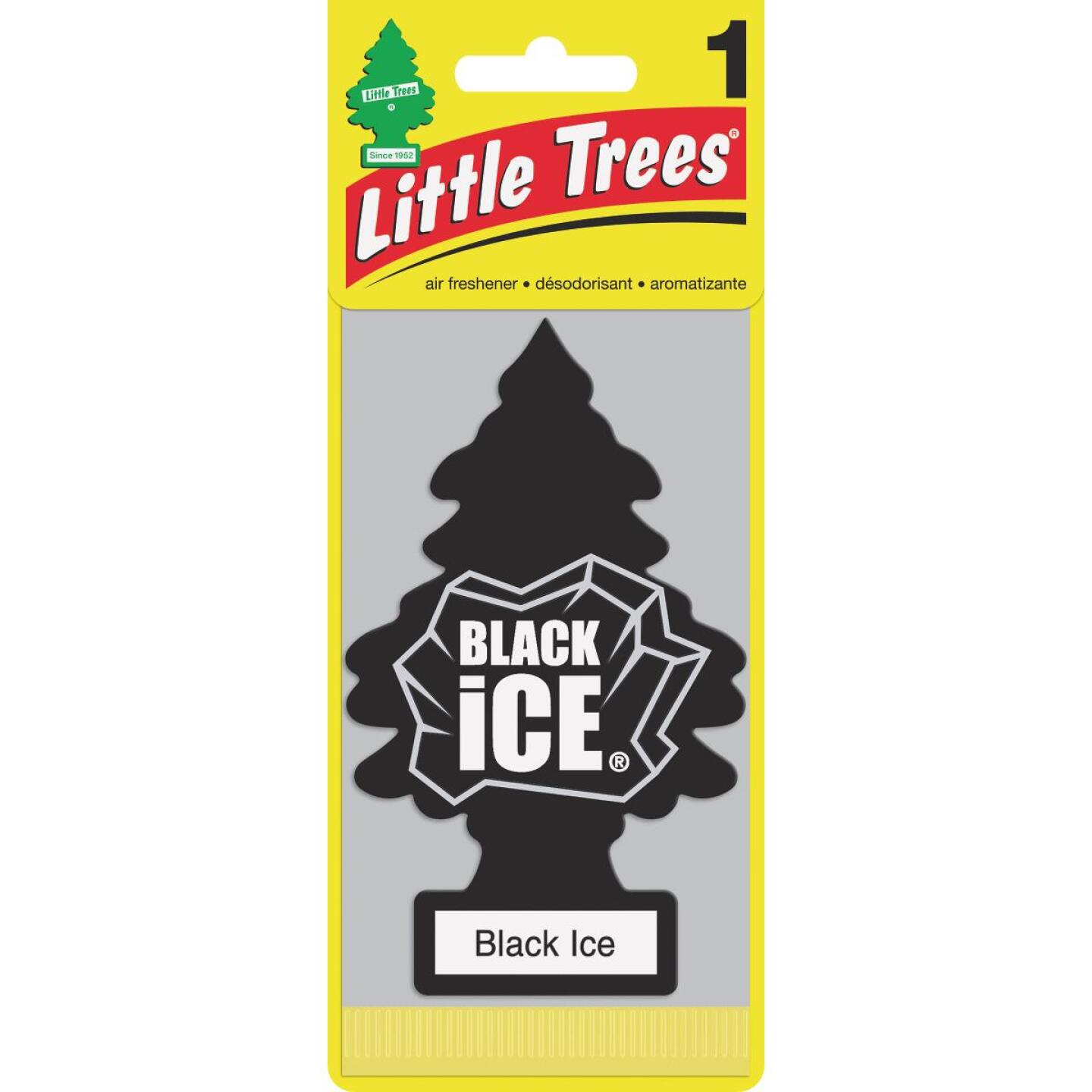Little Trees Car Air Freshener, Black Ice Image 1