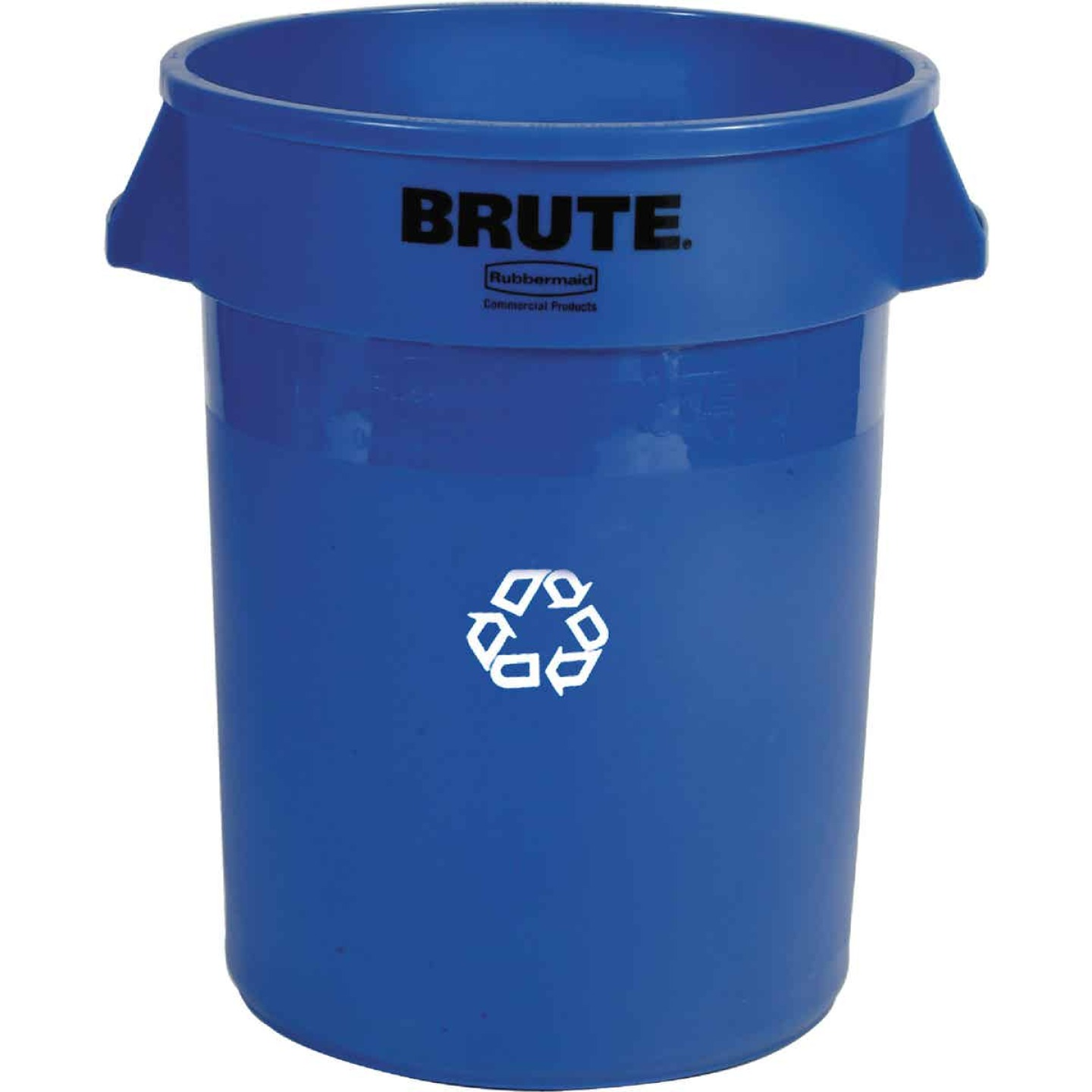Rubbermaid 32 Gal. Recycling Trash Can Image 1