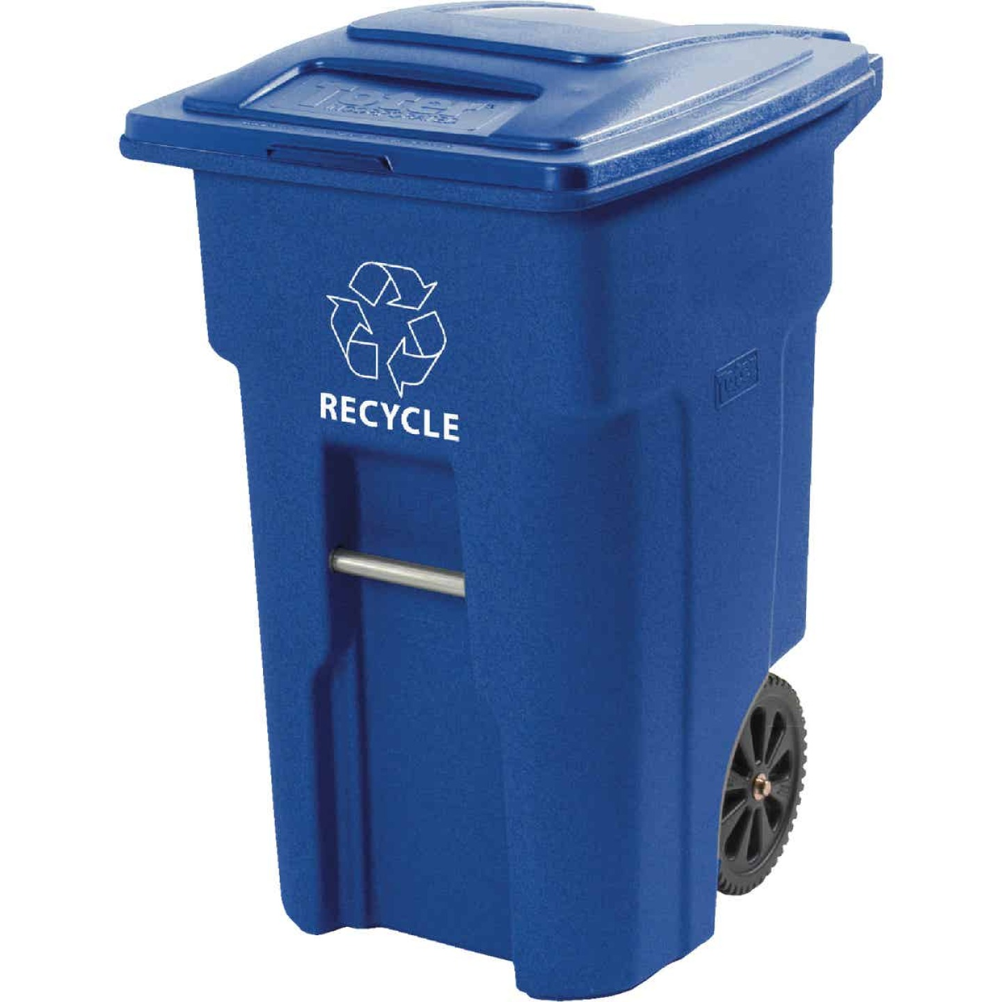Toter 48 Gal. Recycling Trash Can with Lid Image 1