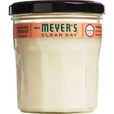 Mrs Meyer's Clean Day 7.2 Oz. Geranium Jar Candle