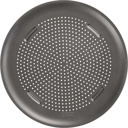 AirBake Aluminum Non-Stick Large Pizza Pan, 15.75in