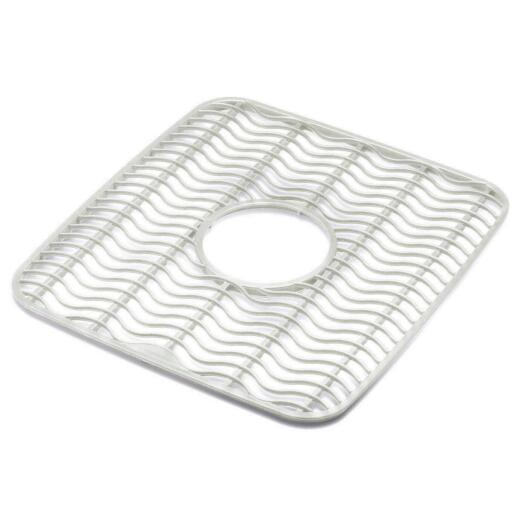 Rubbermaid 11.5 In. x 12.5 In. Clear Twin Sink Mat Protector