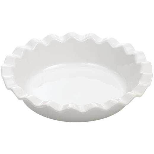 GoodCook 9 In. Stoneware Pie Dish