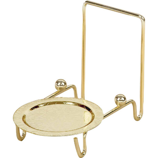 Tripar Brass Cup And Saucer Stand