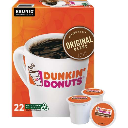 Dunkin' Donuts Original Blend Coffee K-Cup (22-Pack)