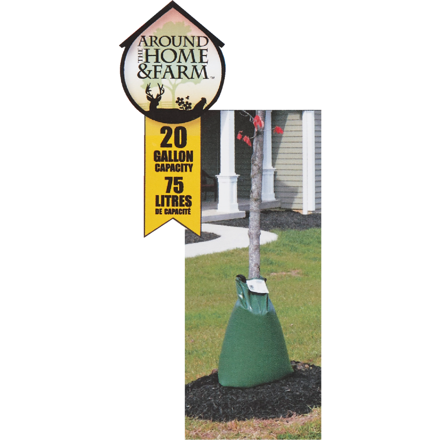Oasis Green 20 Gal. Plastic Tree Watering Bag Image 1
