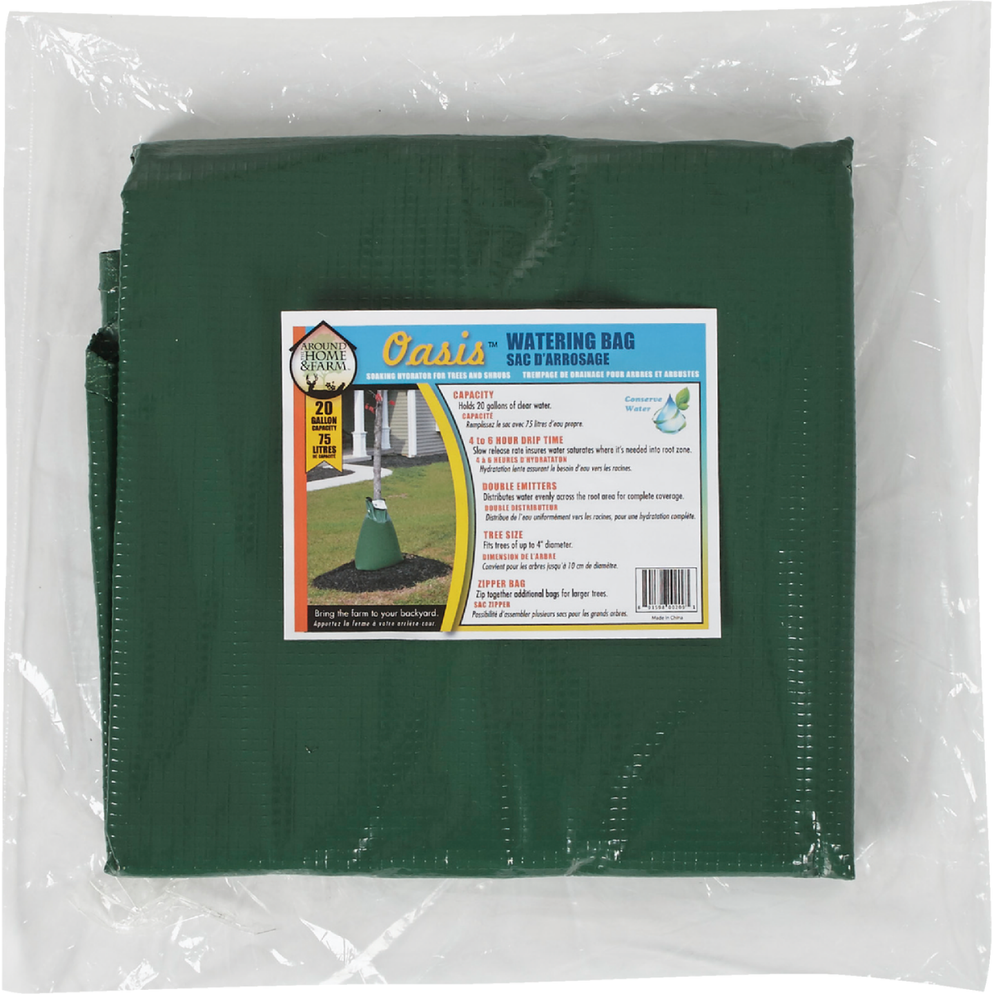 Oasis Green 20 Gal. Plastic Tree Watering Bag Image 2