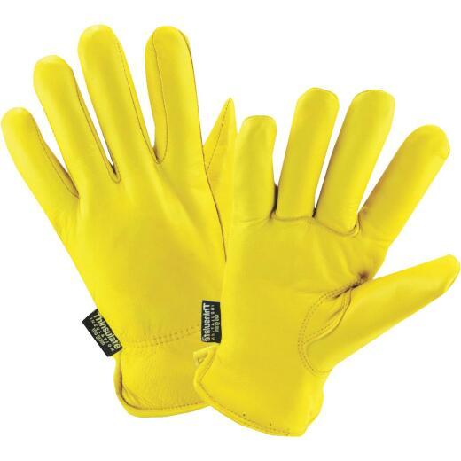 West Chester Men's Large Grain Deerskin Leather Winter Work Glove