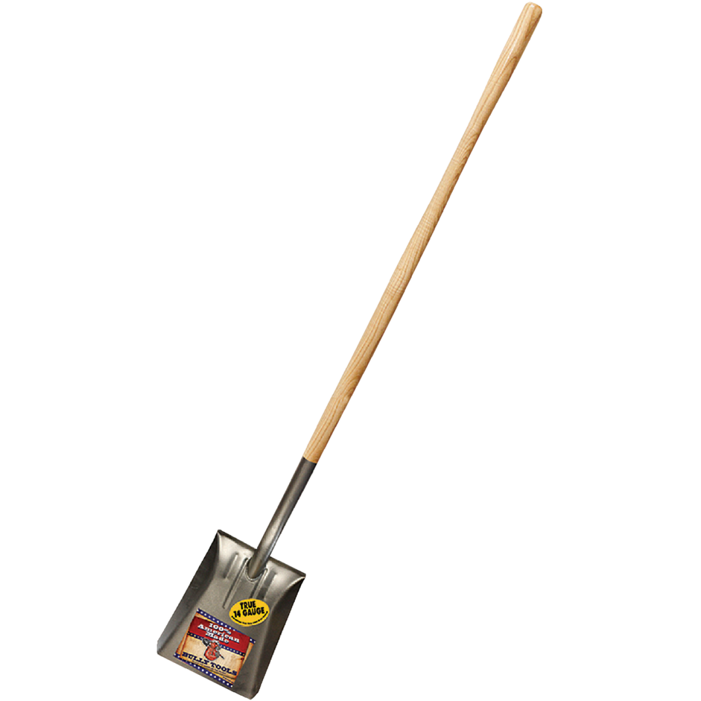 Bully Tools 46 In. Wood Handle Square Point Shovel Image 1