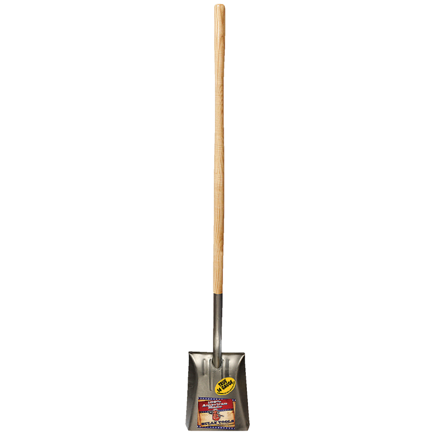 Bully Tools 46 In. Wood Handle Square Point Shovel Image 2
