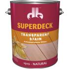 Duckback SUPERDECK Transparent Exterior Stain, Natural, 1 Gal. Image 1