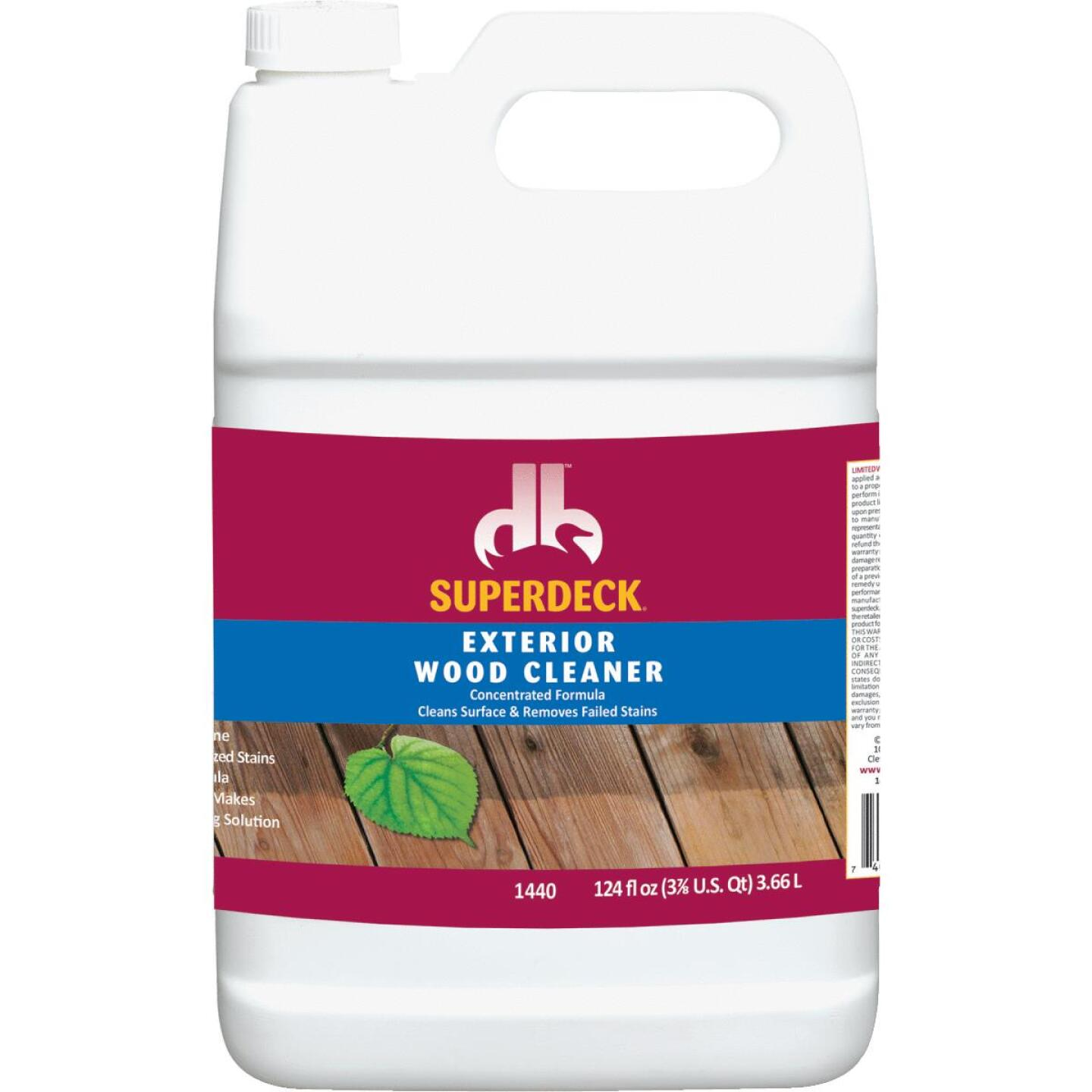 Duckback SUPERDECK 1 Gal. Exterior Wood Cleaner Image 1
