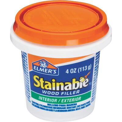 Elmer's Stainable Light Tan 4 Oz. Wood Filler