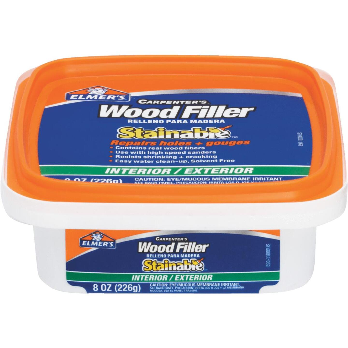 Elmer's Stainable Light Tan 8 Oz. Wood Filler Image 1