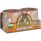 Gorilla 2.83 In. W. x 30 Yd. L. Clear Shipping Tape Refill (2-Pack) Image 1