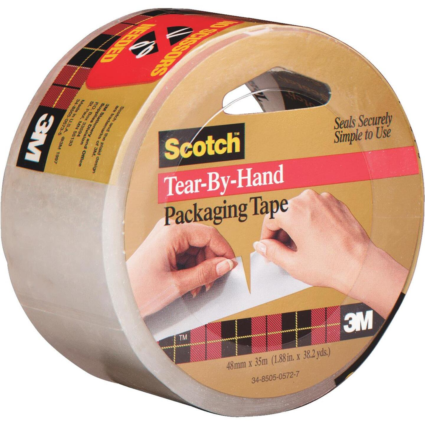 Scotch 2 In. X 38 Yd. Tear by Hand Tape Image 1