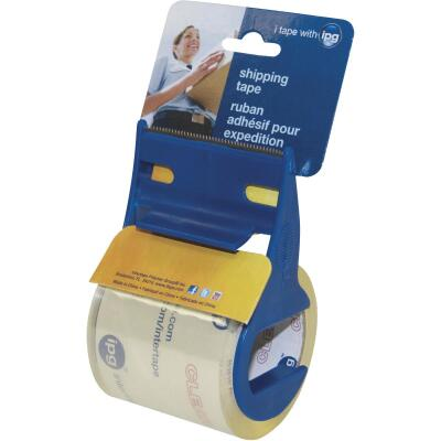 IPG 2 In. x 17.5 Yd. Clear Ready Edge Tape On Dispenser