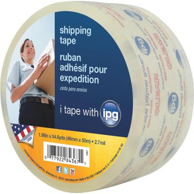 IPG 1.88 In. x 54.6 Yd. Clear Sealing Tape