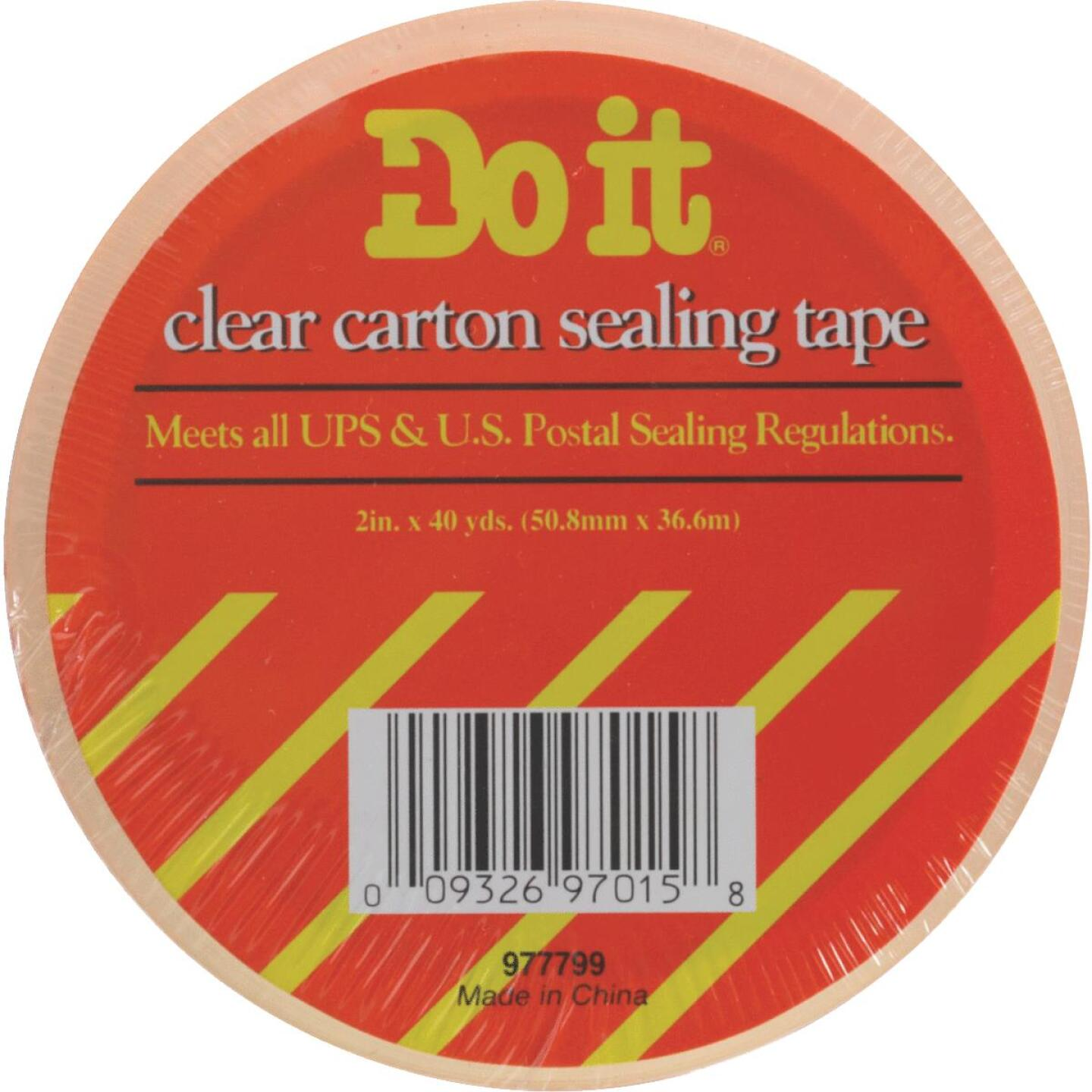 Do It 1.88 In. X 54.6 Yd. Clear Sealing Tape Image 1